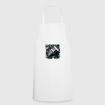 The whole world is in here black - Cooking Apron