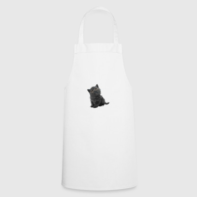The British Shorthair - Cute Kitten - Cooking Apron
