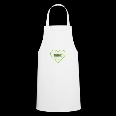 SCIENCE HEART HEAT - Cooking Apron