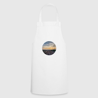Nuremberg, Sunset, Station, Television Tower - Cooking Apron