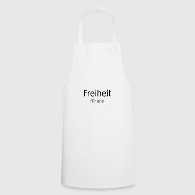 freedom for everyone - Cooking Apron