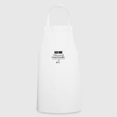 Ask me about my video game achievements - Cooking Apron