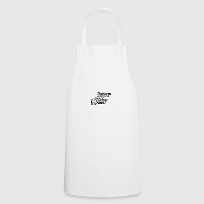 Unicorns are just horny ponies - Cooking Apron