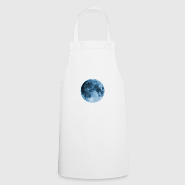 Full Moon, magic, fantasy, night, wicca, space - Cooking Apron