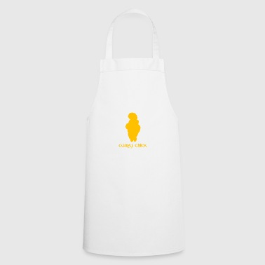 Ancient Curvy Chick - Cooking Apron