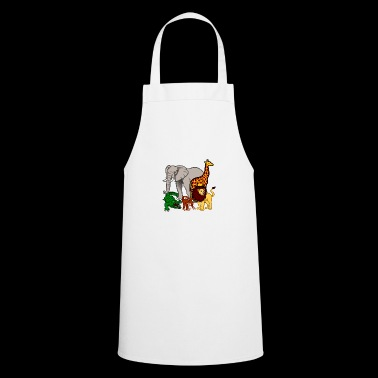 Safari animals - Cooking Apron