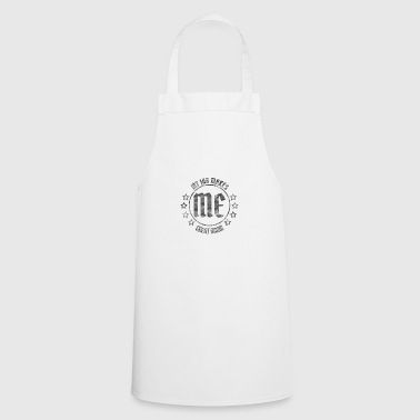 My JOB makes me great again BLACK 4k - Cooking Apron