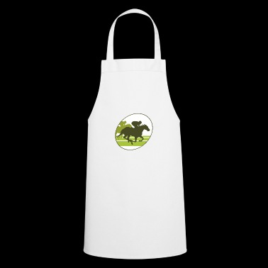 horse race - Cooking Apron
