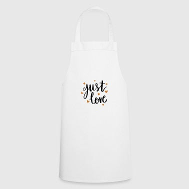 Just love - Cooking Apron