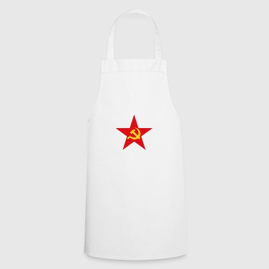 Communist star with hammer and sickle - Cooking Apron