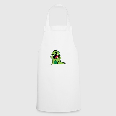Dinosaurs T-Rex Comic Style - Cooking Apron