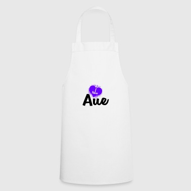 I Love Aue - Cooking Apron