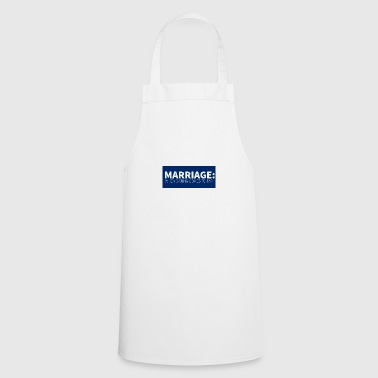 Wedding / Marriage: Marriage: When dating comes to - Cooking Apron