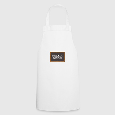 High School / Graduation: Goodbye School - Cooking Apron