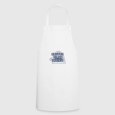 Police: Grammar Police Academy - Cooking Apron
