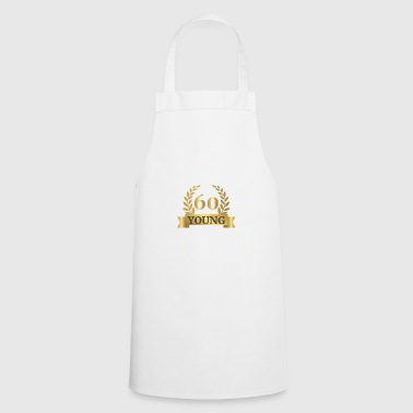 60. Birthday: 60 Years Young - Cooking Apron