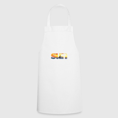 Sun text - Cooking Apron