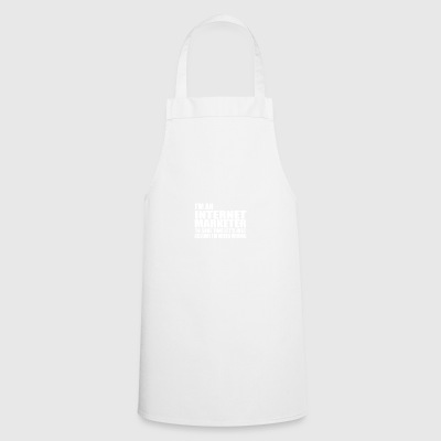 internet marketer - Cooking Apron