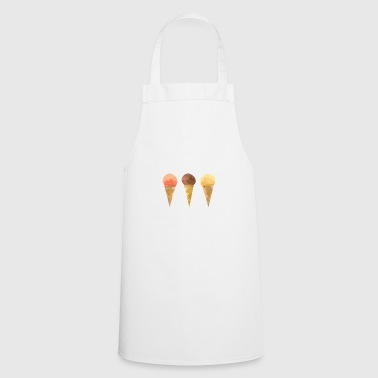 Low Poly Icecream - Cooking Apron