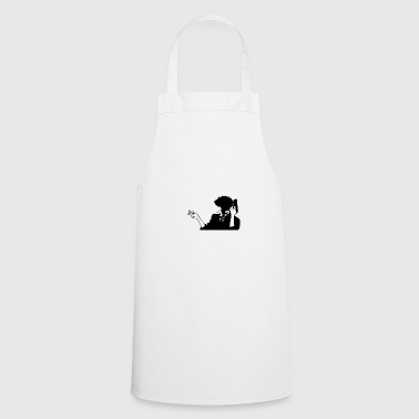 Cowboy bebop pico HQ simple - Delantal de cocina