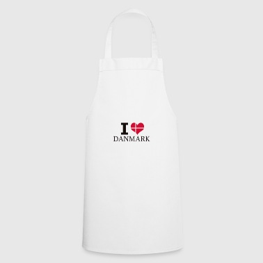 I LOVE DENMARK - Cooking Apron