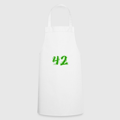 The answer to everything: 42 - Cooking Apron