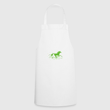 Horse, stallion, foal, mare - Cooking Apron