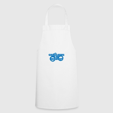 Police: Cops Loves A Big Bust - Cooking Apron