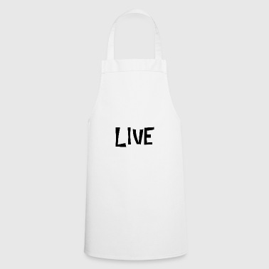 LIVE WHITE - Cooking Apron