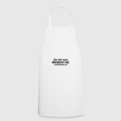 The clock is ticking 14 days bachelor - Cooking Apron