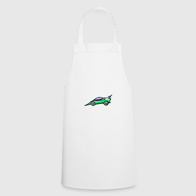 Car green - Cooking Apron