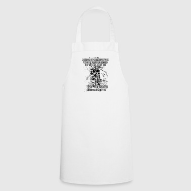 In your darkest hour call me! (dark) - Cooking Apron