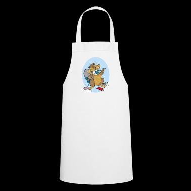 beaver biber rodent rodents wood water15 - Cooking Apron