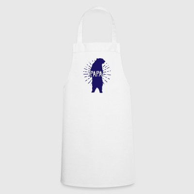Papa Bear Fathers Day - fathers day - Cooking Apron