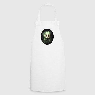 Isle of green Skull - Cooking Apron