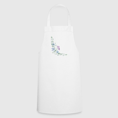 Flower ornament - Cooking Apron