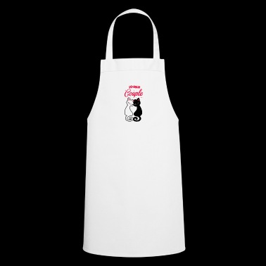 Cats cat | Couple of cats - Cooking Apron