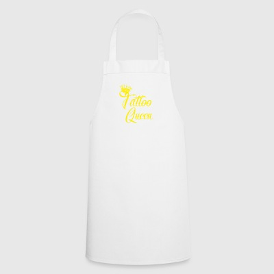 gift queen needle tattooed needle ink - Cooking Apron