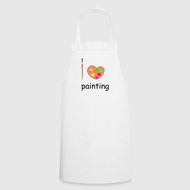 painting - Cooking Apron