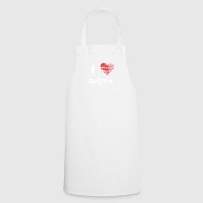 I love minimal techno dubstep raver - Cooking Apron
