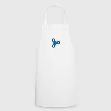 Hand Spinner Blue - Cooking Apron