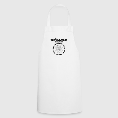 The universe is made of protons, neutrons, ... - Cooking Apron
