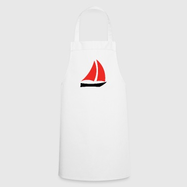 sailboat - Cooking Apron