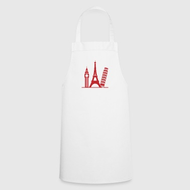 Europe / London,Paris,Pisa - Cooking Apron