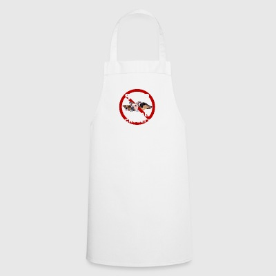 Stop 3dogs stop big white - Cooking Apron