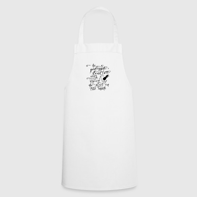 Pineapple: Be A Pineapple - Stand Tall, Wear A Crown - Cooking Apron