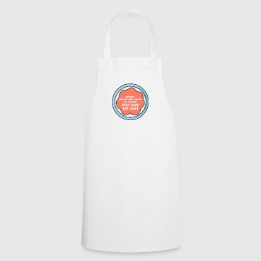 Cake: Skinny People Are Easier To Kidnap. Stay - Cooking Apron