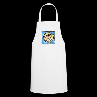 A Grinning Tourist - Cooking Apron