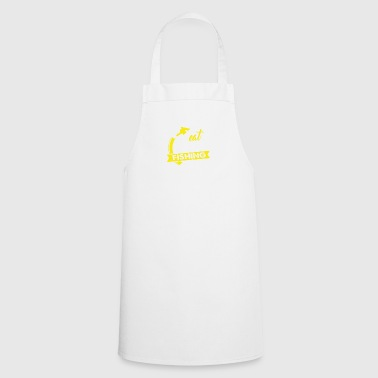 Eat - Sleep - Fishing Angler Shirt Gift - Cooking Apron