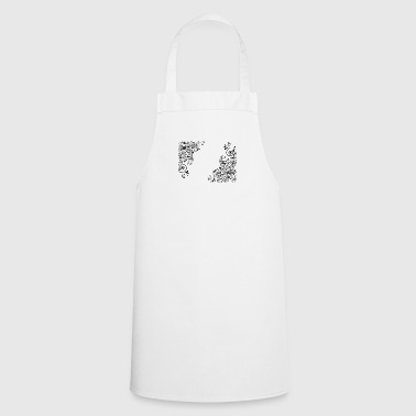 Flowers Decorative - Cooking Apron